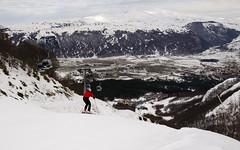 Ovindoli from Monte Magnola (Lorenzo Pietra) Tags: snow mount neve montagna appennini magnola ovindoli