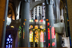 Color (sirixception) Tags: barcelona winter color reflection church spain sagradafamilia kerk spanje kerstmis kleur reflectie citytrip sirixception sirixceptionfotografie