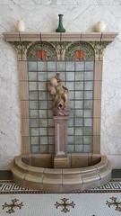 Hot springs fountain inside the Fordyce Bathhouse
