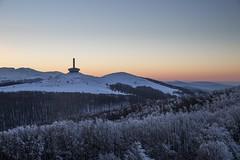 Buzludzha, sunset 2015 (Alex___Wright) Tags: monument communist bulgaria soviet socialist shipka buzludzha buzludja