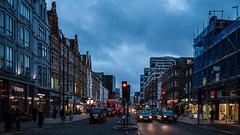 Edgware Road (JB_1984) Tags: street uk england bus london car evening twilight traffic unitedkingdom dusk streetphotography shops paddington bluehour edgwareroad cityofwestminster