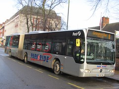 First York 11113 BG58OMJ Piccadilly, York on 8 (1280x960) (dearingbuspix) Tags: first yellowline parkride 11113 firstyork bg58omj