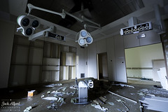 4 (TheVampiricSquid) Tags: urban abandoned hospital lights decay exploration urbex