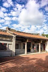 the folk art museum of Pingtung City, Taiwan. (tsaiian) Tags: old travel sky house holiday art history beautiful museum clouds landscape day folk country taiwan landmark courtyard hakka pingtung