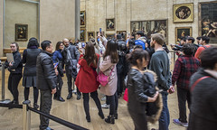 Mona Lisa, Louvre Museum (One Photos) Tags: paris france artmuseum museedulouvre louvremuseum