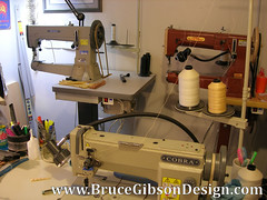 LEATHER MACHINERY-A FEW OF THE MACHINES WE USE (JBruceGibson) Tags: love beauty leather metal insane gun cobra steel sewing machine evil hate castiron beast therapy collar custom heavy gibson mechanic halter swear artisan holster cuss unpredictable stitcher obsess gunleather brucegibson gibsongunleather brucegibsondesign artisantoro4000p cobra18 cobraclass18 cobraclass4 leathermachinecompany