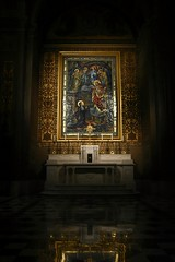 Masterpiece, of a Masterpiece. (SaltyDogPhoto) Tags: city travel color reflection art history philadelphia church architecture religious photography gold design nikon mural candles catholic cathedral pennsylvania religion explore pa historical philly nikkor lowkey masterpiece historicalbuilding photooftheday travelphotography catechism nikonphotography cathedralbasilicaofsaintspeterandpaul nikkorafs1855 nikond7200 saltydogphoto