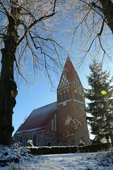 Biestow #12 (victorlaszlo73) Tags: winter sunny sonnig dorfkirche mecklenburgvorpommern biestow