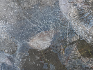 Abstract Under Ice