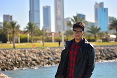 Beach (Lenvin Dcruz) Tags: people love beach me water fashion day ppl kuwait bae strips q8 joj thankou