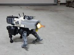 KELOID II MilTech Robotic Weapons Platform (ScriptKitt3h) Tags: lego walker artillery mecha cyberpunk mech drone keloid blr metalstorm foitsop miltech cyberpunklego cyberdongk droneuary