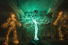 VT El tree IMG_6067_R (- Hob -) Tags: longexposure blue tree green yellow underground raw led figure tyneside humanoid electroluminescent elwire singleexposure victoriatunnel ouseburntrust