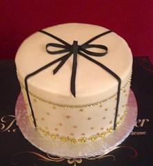 Black Bow & Rhinestones (Cakes by Janice) Tags: rhinestones shanta blackbow