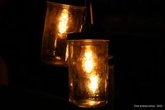 Lampade (Andrea Antico) Tags: arte notte luce lampada buio allestimento incandescenza