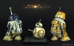 BB-8 Astromech (AndyRM101) Tags: starwars 112 droid bandai scalemodel astromech bb8 theforceawakens