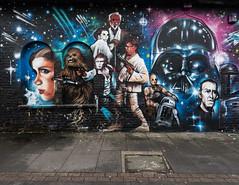 Brick Lane - Graffiti - Star Wars (jerry_lake) Tags: london graffiti streetphotography londoncity graffitiart lightroom61 23rdjan2016