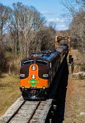 Grenada,MS (Kyle Yunker) Tags: bridge train ic illinois pacific memphis central iowa passenger chapter excursion e8 nrhs emd holdings slrg e8a