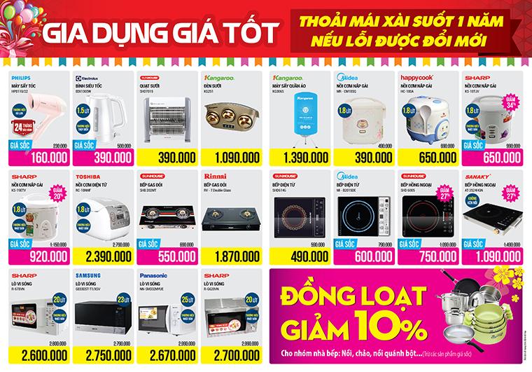 Khai trương siêu thị Điện máy XANH Hà Nội Phùng Hưng