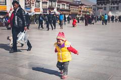 In Lhasa (Elmar Bajora Photography) Tags: china road street people mountains art heritage temple ancient asia asien buddha buddhist strasse buddhism tibet monastery tibetan remote himalaya centralasia lhasa topoftheworld tar tempel culturalheritage lasa gebirge barkhorsquare barkhor hochland roofoftheworld hochebene tibetplateau  autonomeregiontibet tibetanautonomusregion ggg