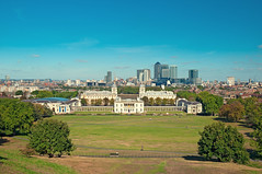 Greenwich Park, London (Twin Group) Tags: park uk england sky green london skyline cityscape greenwich panoramic docklands canarywharf nationalmaritimemuseum traditionalculture canarywharftower urbanscene navalmuseum environmentalconservation buildingexterior unitedkingdomofgreatbritainandnorthernireland