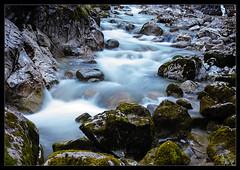 Winterstrom (backsidewalkaround) Tags: longexposure winter water river flow moss rocks manualfocus vintagelens manuallens meyeroptik oldlens meyerprimagon4535