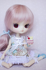 Happy B-day, Cookie!  (Brie G.) Tags: doll dal sanrio groove rement sanx littletwinstars obitsu korilakkuma dotori daldotori