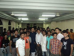 with students of Pubna Science & Technology University