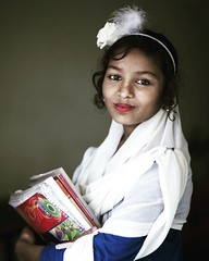 #school #girl #smile #portrait #bangladesh #book #editorial #dress (auniket prantor) Tags: square squareformat juno iphoneography instagramapp uploaded:by=instagram