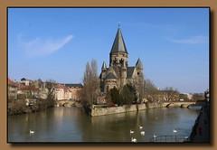 Temple Neuf (p_jp55 (Jean-Paul)) Tags: france church river frankreich kirche rivire fluss lorraine glise metz mosel moselle saarlorlux musel lothringen templeneuf