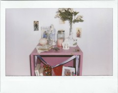 Altar (M. Beln Banega) Tags: art polaroid pastel altar virgin virginsuicides shortmovie