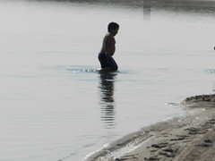 Going swimming at Long Point August 2015 25 (cambridgebayweather) Tags: swimming nunavut cambridgebay arcticocean