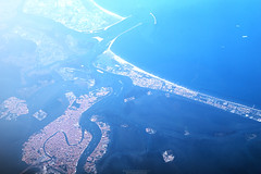 Alta Venezia (Roberto -) Tags: venice sea sky mediterranean mediterraneo mare view top aerial explore vista venezia adriatico aerea explored esplora