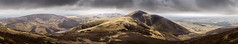 Carnethy Hill Panorama (Neillwphoto) Tags: panorama mountain clouds walking edinburgh path hills flotterstone pentland scaldlaw carnethy