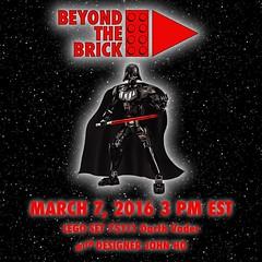 Live build! (Beyond the Brick) Tags: brick star starwars lego designer live wars build afol