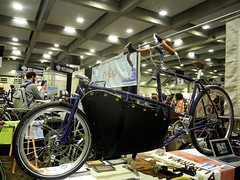 cargo bike (citymaus) Tags: show road bike bicycle handmade center front bicycles convention sacramento load cargobike 2016 northamerican nahbs