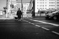 F'High Noon (DOKTOR WAUMIAU) Tags: blackandwhite berlin blackwhite sony streetphotography frankfurter lightroom blackandwhitephotography fhain qx100 vscofilm