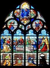 Vitrail de la cathdrale de Bourges (jjcordier) Tags: bourges centre cathdrale gothique