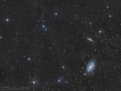 A frosty view of the M81 region of space.  Ursa Major (www.swiftsastro.com) Tags: sky cloud white abstract black texture valencia monochrome night stars landscape gold star solar waterfall skies outdoor wizard space ngc deep surreal fast astro observatory telescope creation galaxy nebula astrophotography soul orion astrofotografia astronomy swift pillars universe phd takahashi astronomia lunar cosmos vixen deepspace paramount hubble emission nebulosa stelle cepheus starlight moonrocks dso cassiopeia xpress refractor vsd nebulae textur baader nebulosity skywatcher narrowband 7380 pixinsight eq6 fsq106 astrodon qhy5 mn190 neq6 sxvrh18