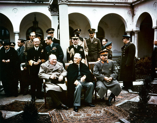 From flickr.com: Yalta Conference, 1945 {MID-244717}