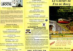 2001 voorzijde folder CFB (Arno@Rsd) Tags: folder cfb dienstregeling chemindeferdubocq