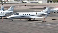 Gates Learjet 55 N717EB (ChrisK48) Tags: airplane aircraft 1981 lear dvt phoenixaz kdvt gateslearjet55 n717eb phoenixdeervalleyairport