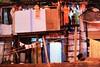 Little Girl upstairs in the shadows. (gsmithsirus) Tags: poverty travel india bombay mumbai slums slumdogmillionaire