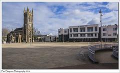 Church Sq Scunthorpe (Paul Simpson Photography) Tags: church stjohn lincolnshire streetfurniture scunthorpe pedestrianarea churchsquare photosof imageof photoof northlincs imagesof southhumberside sonya77 paulsimpsonphotography viewsofscunthorpe humberutc march2016