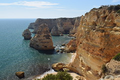 Algar Seco - Algarve, Portugal (bigjohn23582) Tags: sea sun holiday beach portugal nature rock landscape coast europe formation algarve seco alvor algar algarseco