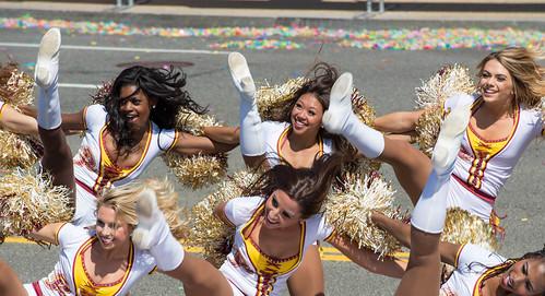 Washington Redskins Cheerleaders, 2016