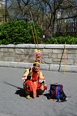 Union Square, NYC. DSC_6389 (Nina Roberts) Tags: nyc orange cellphone mobilephone unionsquare newyorkcitystreets ninaroberts