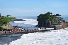 Bali (Dikshant Shahi) Tags: sea bali indonesia temple lot kuta tanahlot tanah