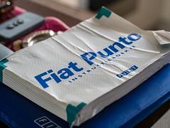 Fiat Punto manual (marcogariboldi) Tags: auto car punto automobile fiat cabrio yashica yashinon tomioka 1255