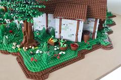 MELO round 1 House of Beorn (Elio7) Tags: nikon lego gandalf hobbit bilbo elio melo beorn mocpages d7000