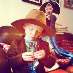 Indiana Oscar and the Pirate Wizard... (nathanrobinson2) Tags: friends cute boys hat twins funny play treasure brothers witch wizard pirates harrisonford hats dressup witches witchcraft indianajones bff sons wizards uploaded:by=flickstagram instagram:photo=792060062249255650184137303 piratewizards